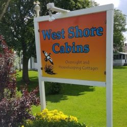 West Shore Cabins  on Lake Champlain in North Hero,Vermont