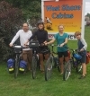 Bourque family rode their bikes from Montrea